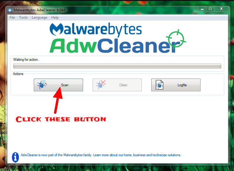 scan your adwcleaner.exe - remove ads, pop-ups and malware