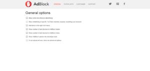 "customize ""AdBlock"" extension"