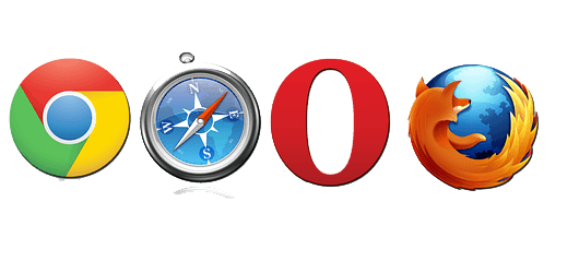 clear and reset browser settings and data's for Google chrome Mozilla Firefox Opera Mini Safari