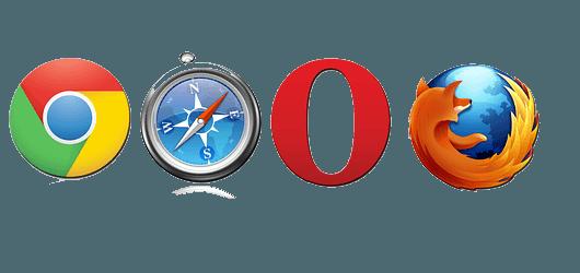 clear and reset browser settings and data's for Google chrome Mozilla Firefox Opera Mini Safari
