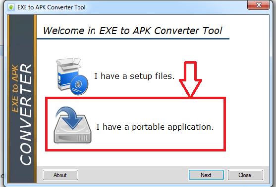 exe to apk converter tool.exe