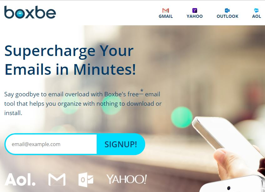 Add or Remove Boxbe From Gmail Yahoo Outlook