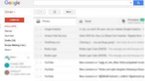 google mail account connected with boxbe