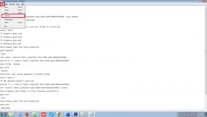 saveas folder lock code