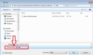 change save as file type
