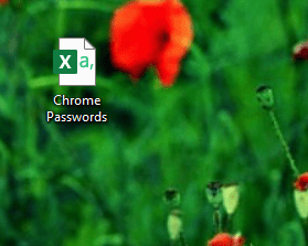 export chrome saved passwords in local drive