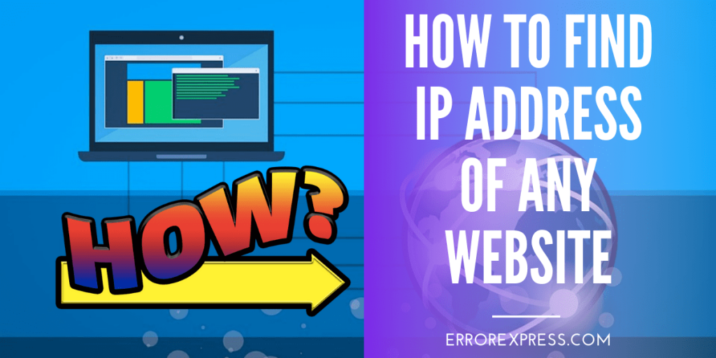 how to find IP address of website
