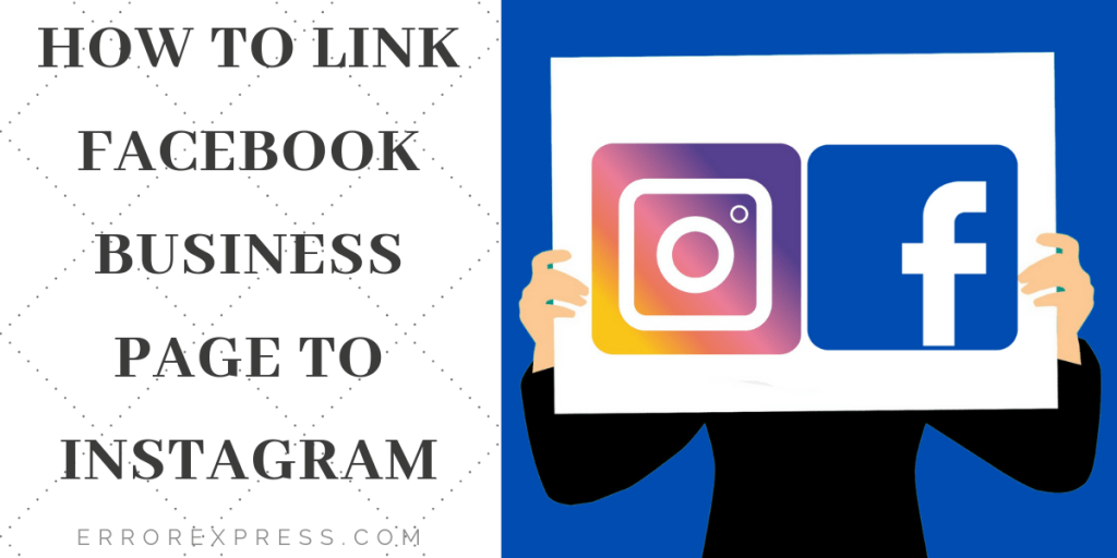 how to link Facebook business page to Instagram