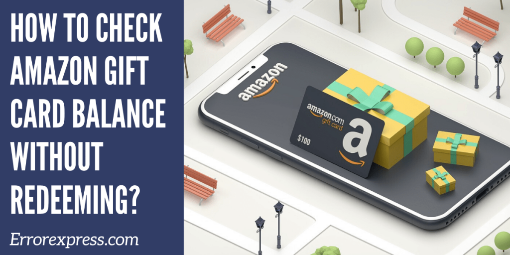 how to check the Amazon gift card balance for your account without redeeming