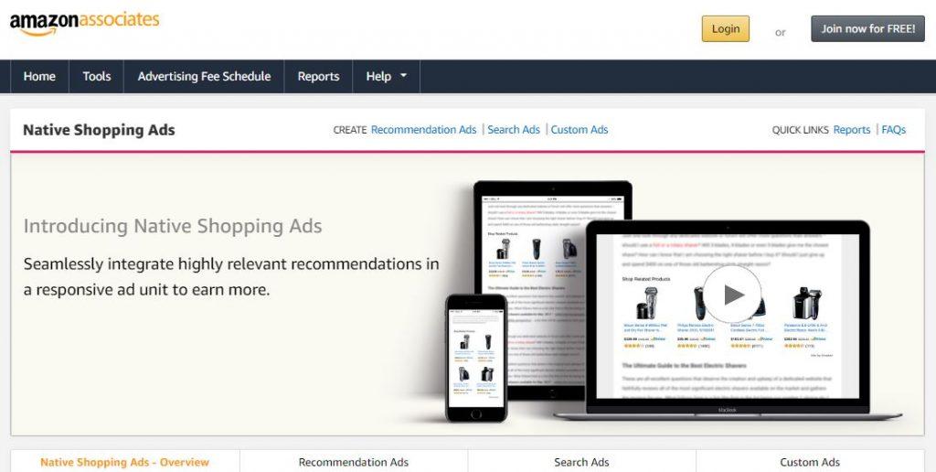 google adsense alternatives -amazon native ads