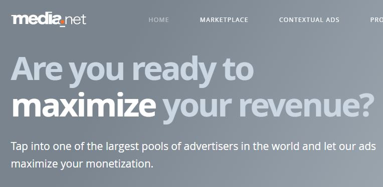 media.net adsense best alternative