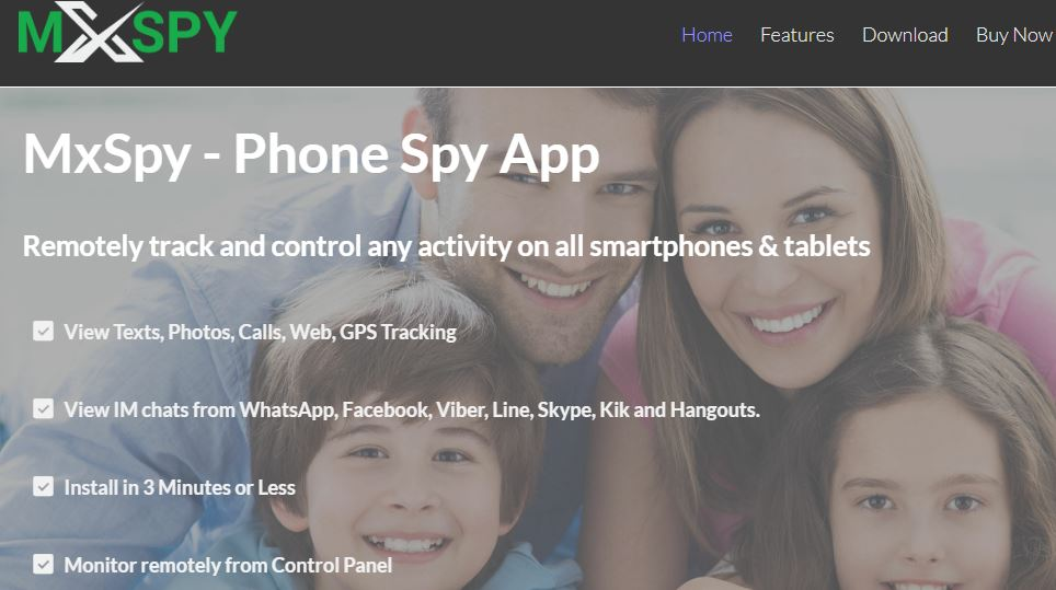 mxspy spying android application