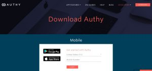 Authy Two-step authentication