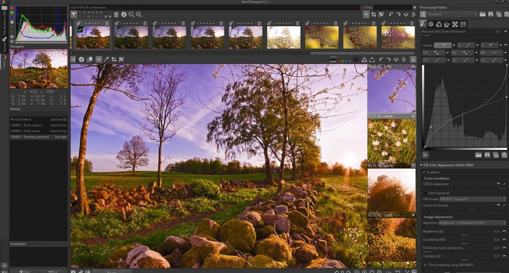 needs and features of hdr sofrware tools