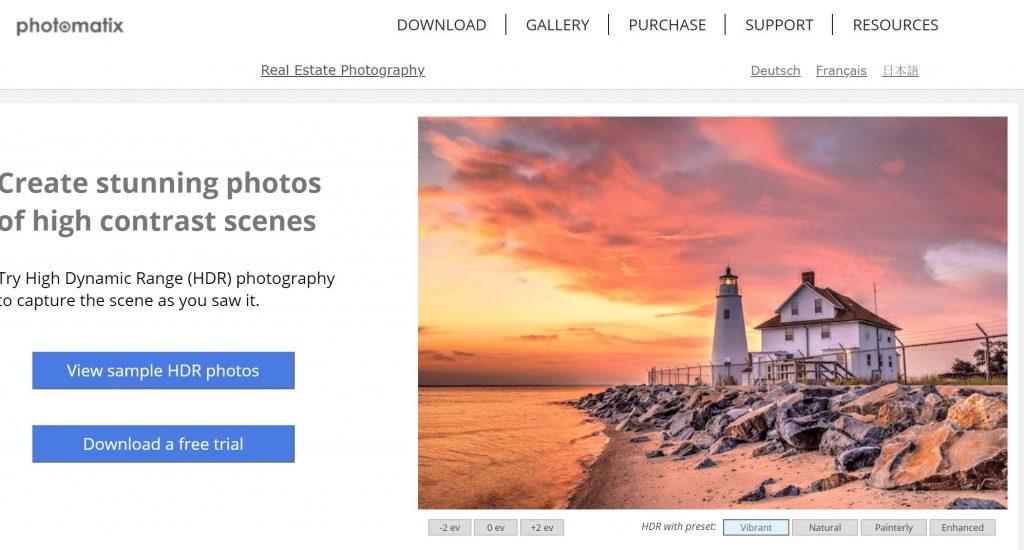 photomatrix pro HDR editing tools