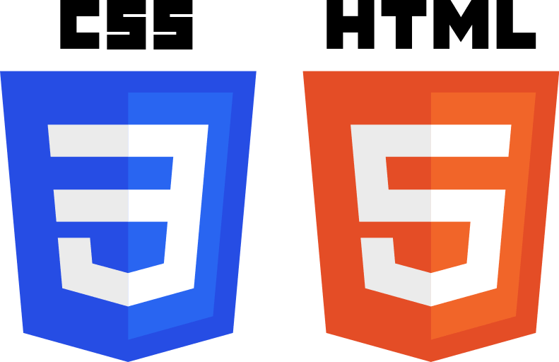 Html and css in web design