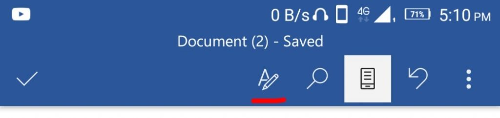 microsoft word document mobile