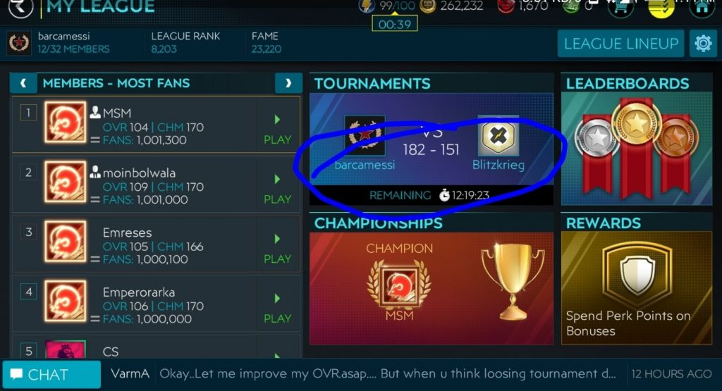 FIFA My League Tournaments and Leaderboards