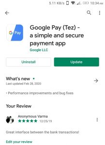 google pay app download page playstore