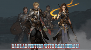 rare adventure with real heroes