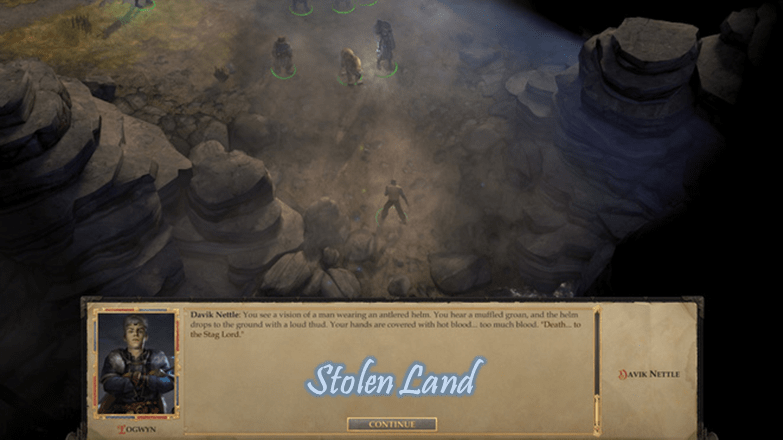 Stolen land