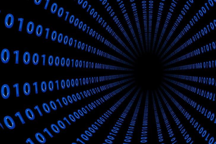 data is broken in chunks