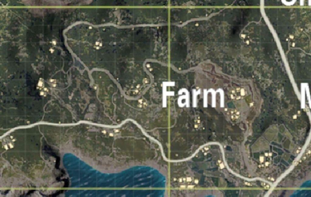 Farm safest places land PUBG Mobile