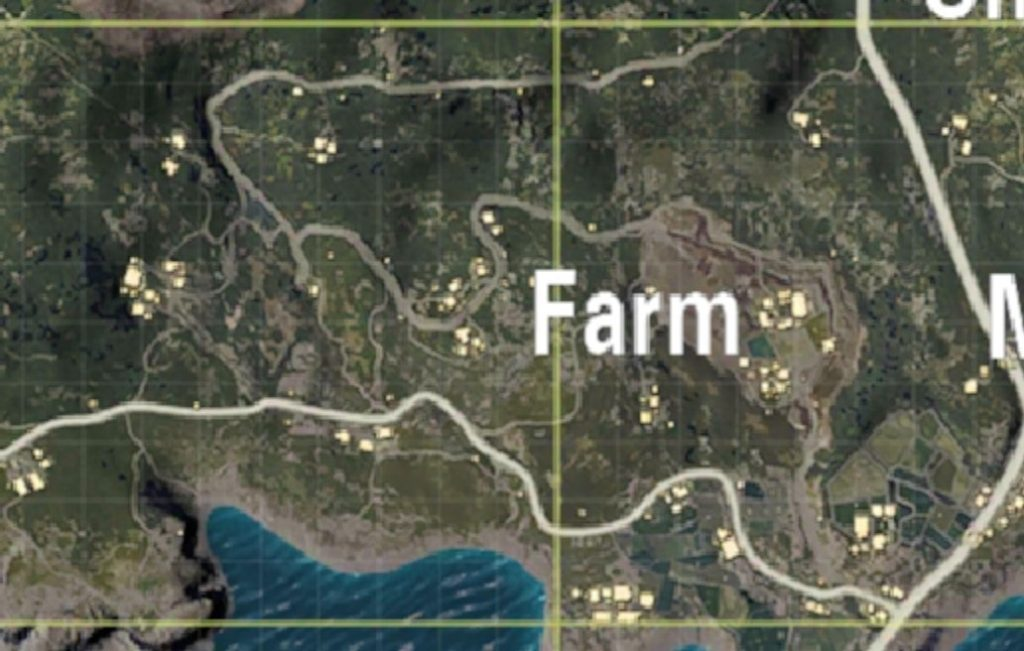 Farm safest places land PUBG Mobile