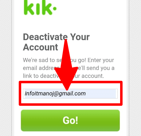 Kik user email