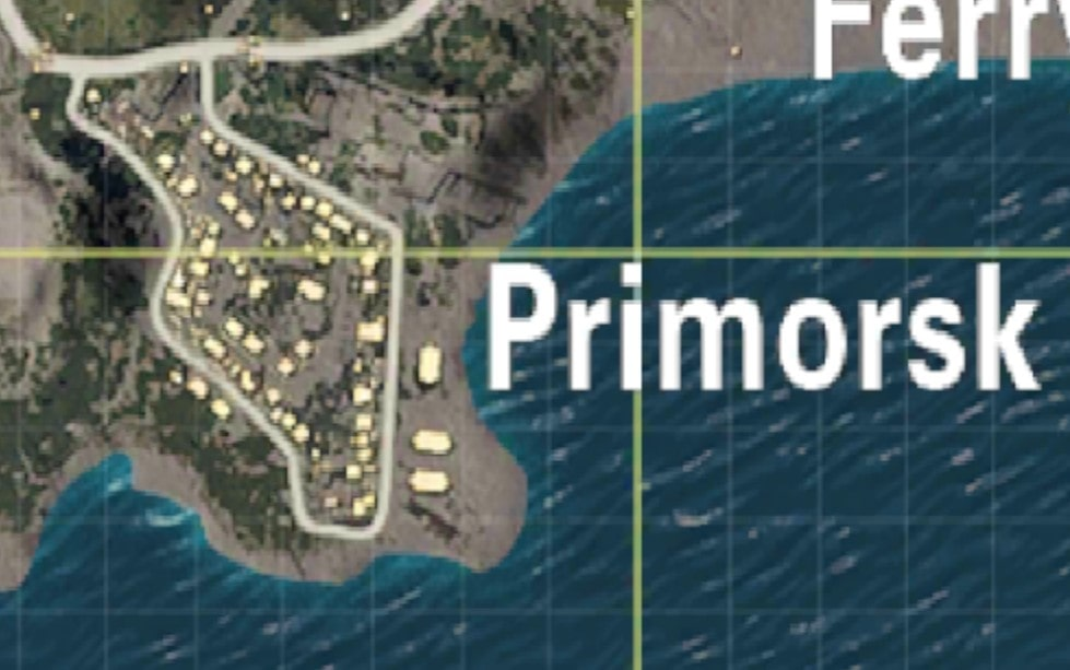 Primorsk Moderate Places to land in PUBG MOBILE