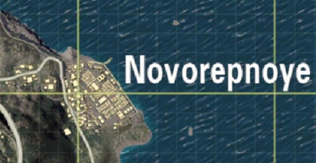Novorepnoye Hot Dropping Places To Land in PUBG MOBILE