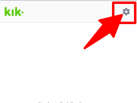 kik settings icon