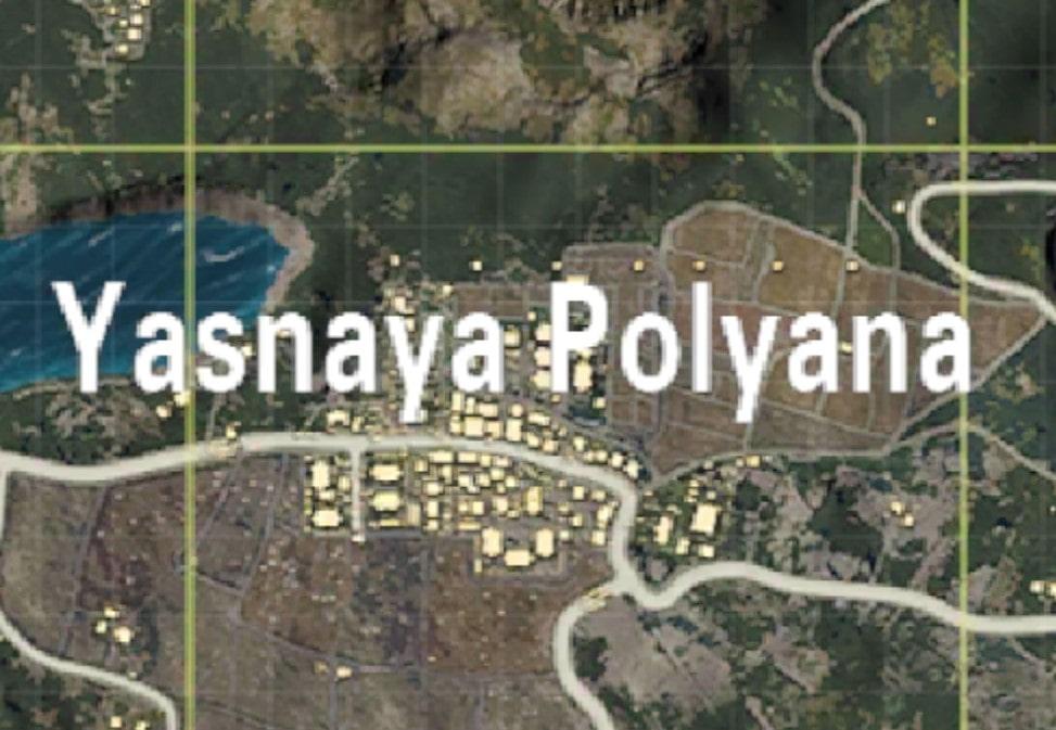Yasnaya Polyana safest places land PUBG Mobile