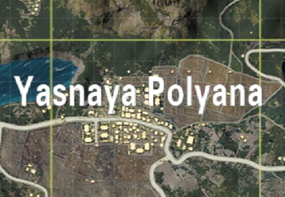 Yasnaya Polyana safest places land PUBG Mobile
