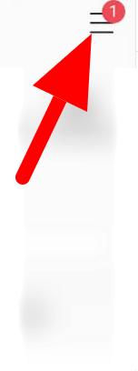 three dot line horizontal menu