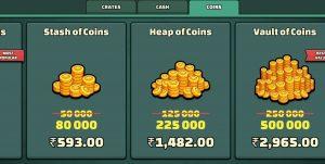 coins -minimilitia doodle army