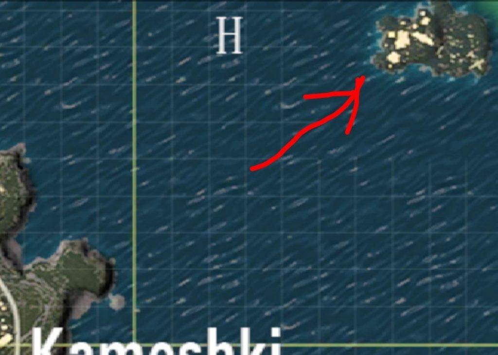 Spawn Islandsafest places land PUBG Mobile