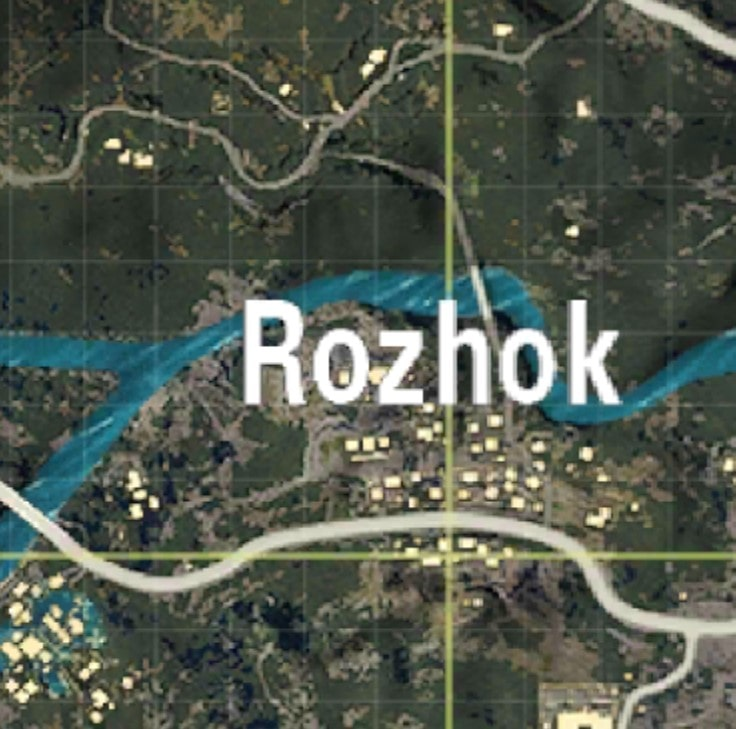 Rozhok Moderate Places to land in PUBG MOBILE