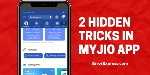 2 Hidden Tricks In MyJIO app | Track Calls of Any other Jio user | Free 1GB Voucher on Top-up