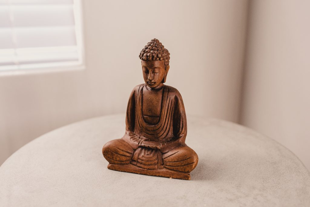 Accept It Completely- Buddha image