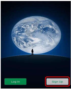 wechat signup and login option