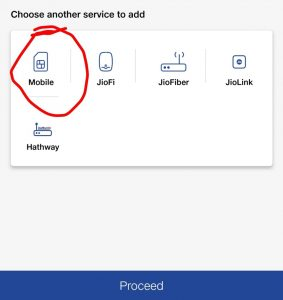 choose the mobile service