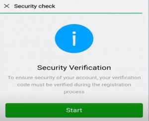 WeChat security verification
