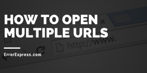 How to open multiple URLs?? Best multiple url opener!!!