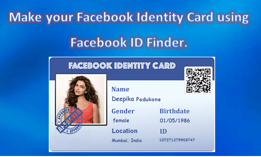 How to use Facebook ID Finder