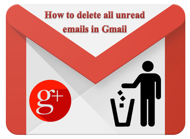 How to delete all unread emails in Gmail Account