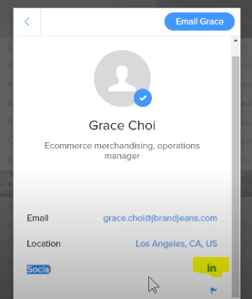 Hidden email informations