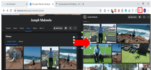 visible picture mate icon on top