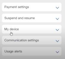 suspense and resume option