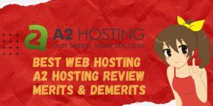 Best Web Hosting l A2 Hosting Review _ Merits & Demerits